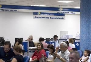 Auditoria do TCU apontou alta judicialização envolvendo INSS Foto: Agência O Globo
