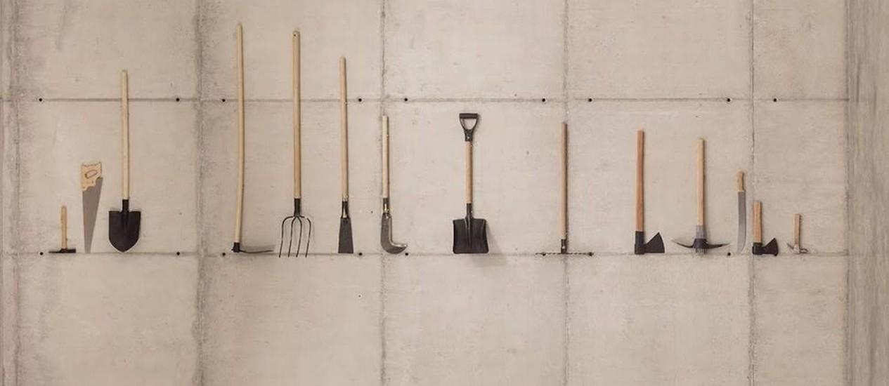 """""""Combate"""", obra de Jaime Lauriano, compõe exposição no Museu de Arte do Rio Foto: Divulgação"""