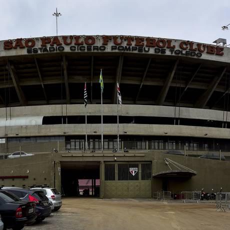 Estádio do Morumbi, do São Paulo Foto: Lucas Lacaz Ruiz / A13 / Agência O Globo