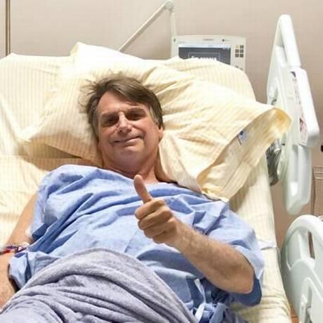 Bolsonaro está internado no Hospital Israelita Albert Einstein, em São Paulo Foto: Reprodução
