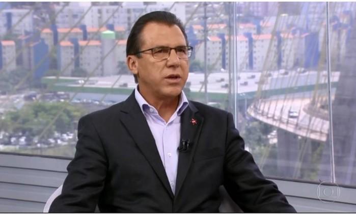 SP1 entrevista Luiz Marinho, candidato do PT ao governo de São Paulo Foto: Reprodução/G1
