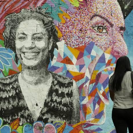 Assassinato de Marielle Franco e do motorista Anderson Gomes completa seis meses nesta sexta-feira Foto: Gabriel de Paiva / Agência O Globo