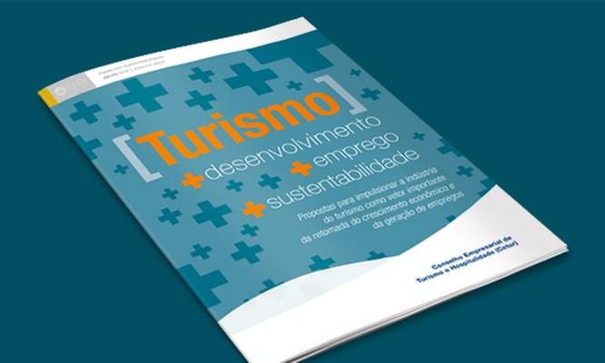 """Documento """"Turismo: +desenvolvimento +emprego +sustentabilidade"""" Foto: Divulgação"""