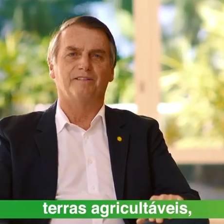 Com Bolsonaro hospitalizado, campanha lança vídeos para reforçar candidatura Foto: Reprodução