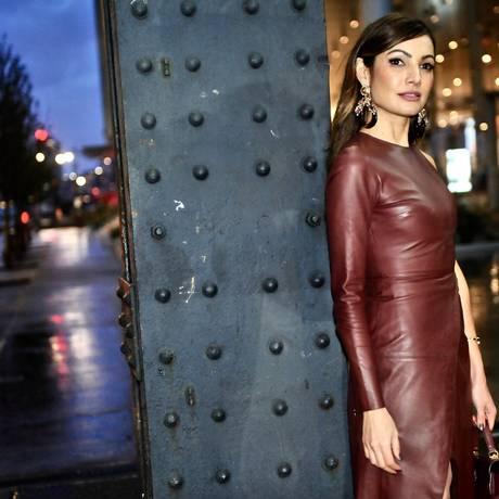 Patricia Poeta diz que gosta de moda desde pequena Foto: Yuri Graneiro