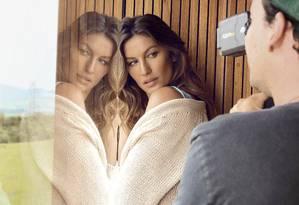 A beleza de Gisele Foto: Lu Prezia/ Divulgação