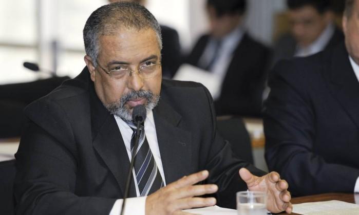 O senador Paulo Paim (PT-RS) Foto: José Cruz / Agência Senado
