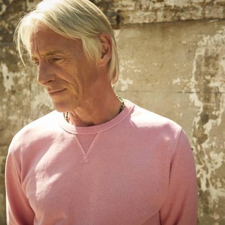 O cantor e compositor inglês Paul Weller Foto: Nicole Nodland / Divulgação