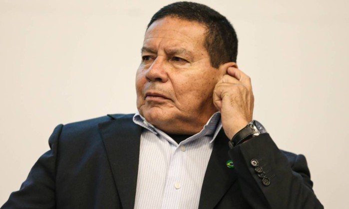 O General Mourão, candidato a vice-presidente na chapa de Jair Bolsonaro Foto: Foto: Geraldo Bubniak/AGB / Agência O Globo