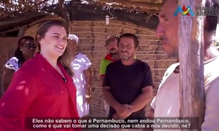 Neta de Miguel Arraes critica a cúpula do PT Foto: Reprodução