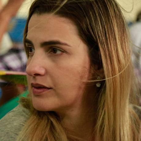 Anthony Garotinho e sua filha, Clarissa Garotinho, almoçaram no Restaurante Popular de Campo Grande, Zona Oeste do Rio Foto: Brenno Carvalho / Agência O Globo 24/08/2018
