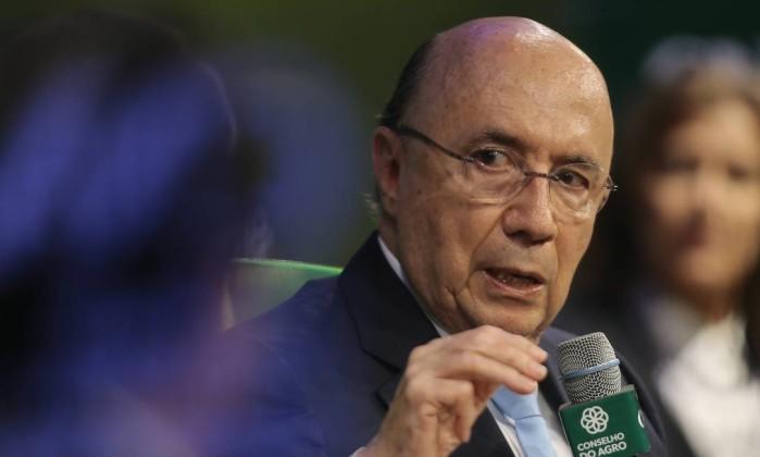 Henrique Meirelles participa de encontro com presidenciáveis na CNA Foto: Jorge William/Agência O Globo/29-08-2018