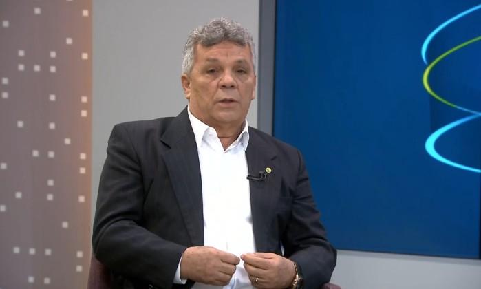 Alberto Fraga (DEM-DF) acredita que a flexibilizaçao da posse de armas está 'praticamente resolvida' Foto: Reprodução/TV Globo