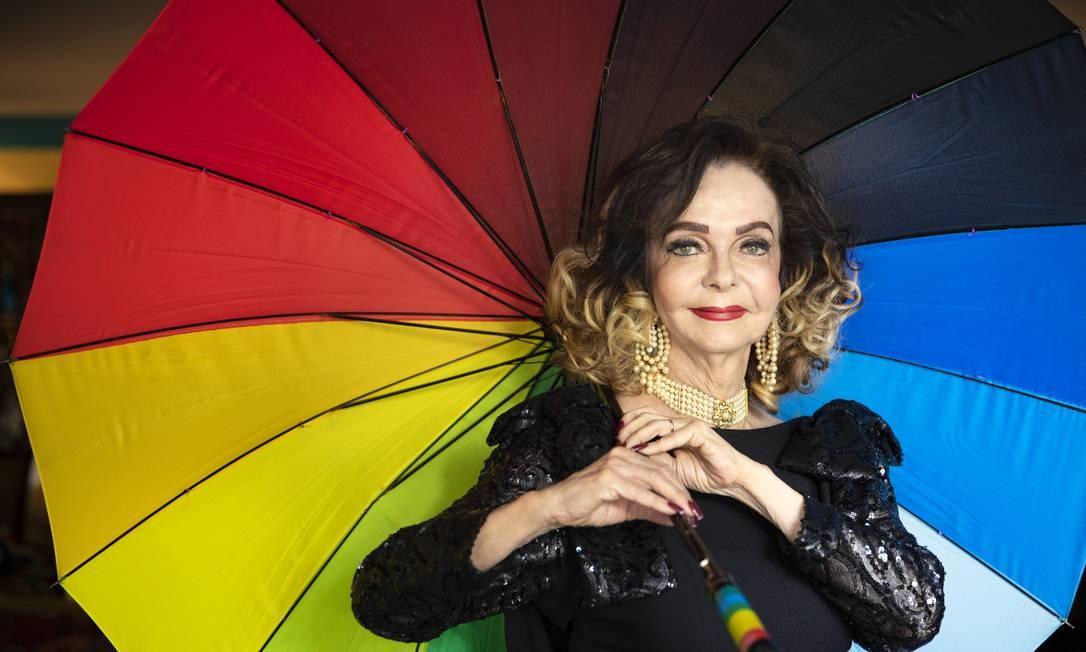 """Vera Loyola: """"rainha"""", """"master"""" ou """"cintilante"""" para os amigos Foto: Leonardo Aversa : Leo Aversa / Agência O Globo"""