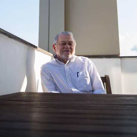 Jorge Peregrino, diretor presidente da Academia Brasileira de Cinema Foto: Emily Almeida / Agência O Globo