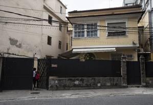Uma das clínicas que poderá receber dinheiro da ABBR, no Rio Comprido: prefeitura deve à unidade verbas do SUS por serviços feitos em 2017 Foto: Alexandre Cassiano / Agência O Globo