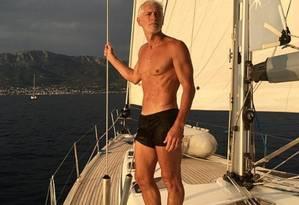 Gelati: 'Faço exercicios e como com moderação, mas não sigo dieta' Foto: Reprdução/Instagram