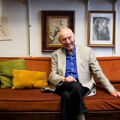 O psicólogo Walter Mischel Foto: David Dini/ Universidade de Columbia