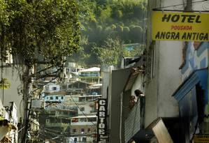 Em Angra dos Reis, briga de facções do tráfico preocupa juízes Foto: Antonio Scorza / Agência O Globo