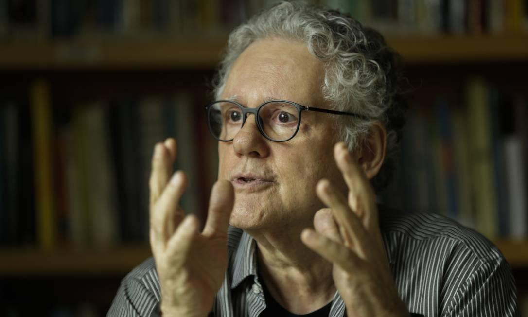 O jornalista Sérgio Abranches Foto: Gabriel de Paiva / Agência O Globo