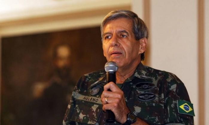 O general Augusto Heleno Foto: Fábio Rossi / Agência O Globo