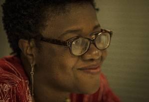A candidata ao governo do Rio de Janeiro Dayse Oliveira (PSTU) Foto: Guito Moreto / Agência O Globo