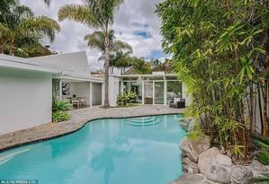 A piscina da casa de Taylor Swift Foto: MLS Real Estate