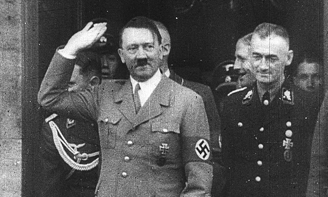 Frame de programa de TV sobre Hitler no Eurochannel Foto: Reprodução