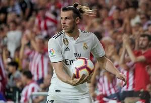 Gareth Bale viu sua importância no Real aumentar após saída de CR7 Foto: Vincent West / REUTERS