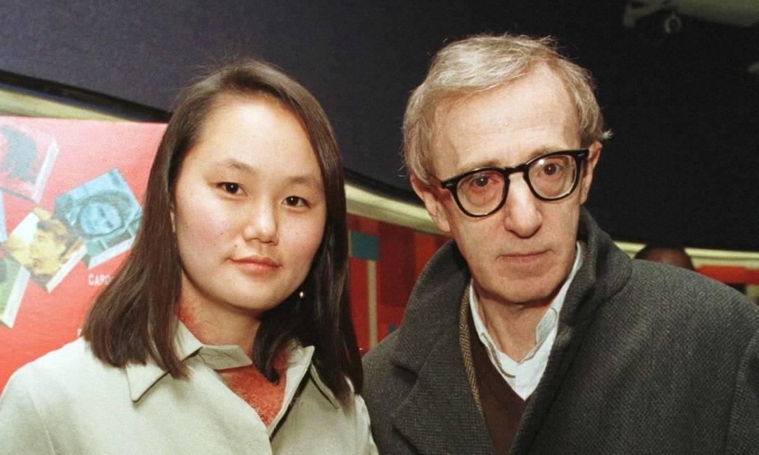 Soon Yi Previn e Woody Allen Foto: Albert Ferreira / Reuters