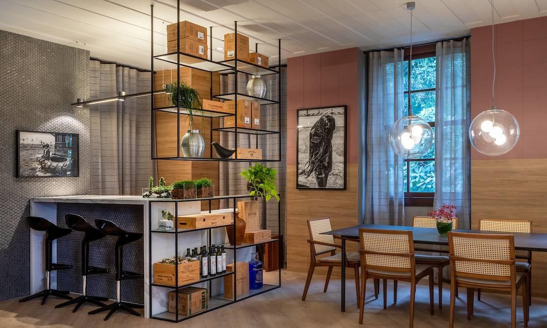 Restaurante D´a Ladeira, projeto de Andrea Duarte e Anna Malta Foto: Divulgação