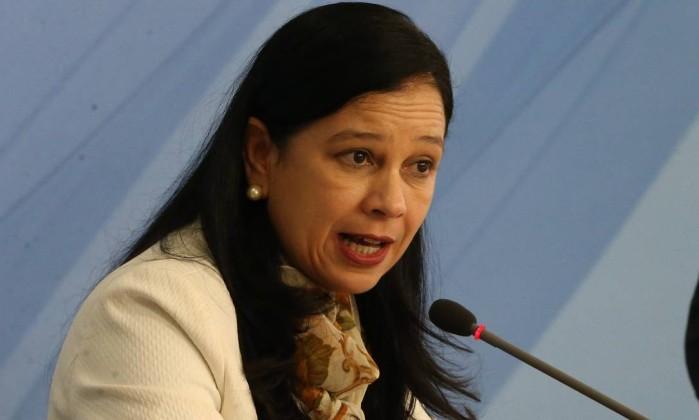 A advogada-geral da União, a ministra Grace Mendonça Foto: Givaldo Barbosa / Agência O Globo