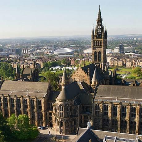 A Universidade de Glasgow foi elogiada por atividades por reconhecer seus ganhos com a escravidão Foto: Divulgação/Universidade de Glasgow
