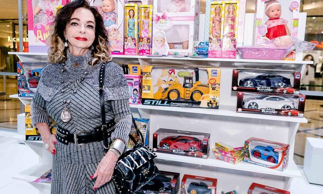 A embaixadora Vera Loyola Foto: BRUNO RYFER
