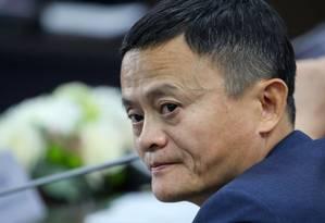 No curto prazo, as comunidades de negócios na China, nos EUA e na Europa estarão em apuros, alertou Jack Ma Foto: Bloomberg