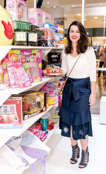 A editora de moda da Revista ELA Patricia Tremblais Foto: BRUNO RYFER