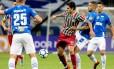 Pedro se machucou em partida contra o Cruzeiro Foto: Lucas Merçon / Fluminense / Divulgação