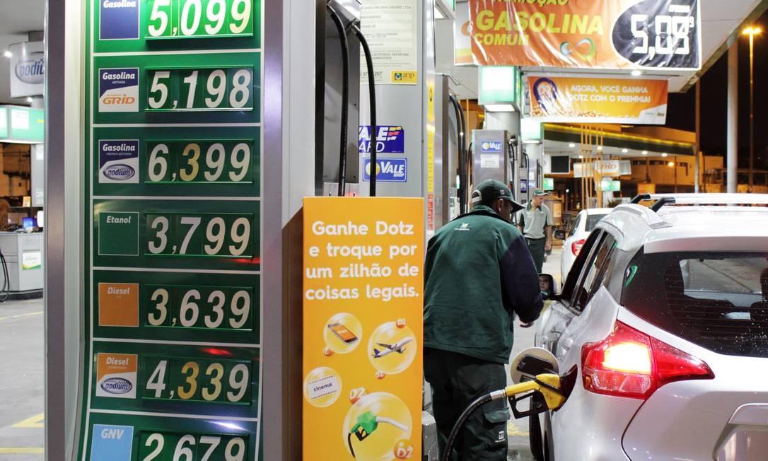 17adda84d Preços da gasolina e energia devem ter alívio em 2019 - Jornal O Globo