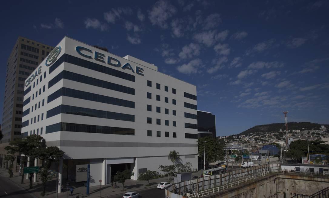 Sede da Cedae, no Centro do Rio Foto: Alexandre Cassiano/Agência O Globo/21-07-2017