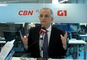 Márcio França, candidato ao governo de São Paulo Foto: Reprodução/CBN e G1