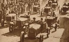 De acordo com o regulamento da época, os Fordinhos tinham suas carrocerias aliviadas ao máximo. E só Foto: Arquivo O Globo