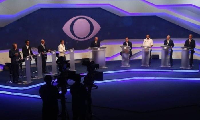 Debate na TV Aparecida será o terceiro; o primeiro foi da Band Foto: Marcos Alves / Agência O Globo