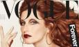 """Gisele ruiva para a """"Vogue"""" Itália Foto: Reprodução/ Instagram"""