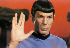 Vulcan é o planeta natal do personagem Spock Foto: REPRODUÇÃO