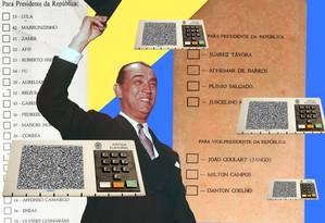 A história do voto no Brasil Foto: Época