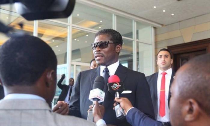Vice-presidente da Guiné Equatorial, Teodore Nguema Foto: Reprodução/Facebook