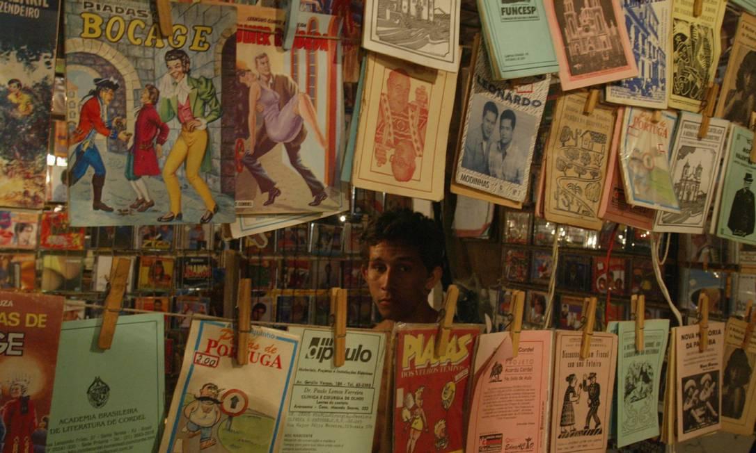 Literatura de cordel à venda na Feira de São Cristóvão Foto: Gustavo Stephan / Gustavo Stephan