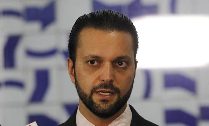 O ministro das Cidades, Alexandre Baldy Foto: Givaldo Barbosa / Agência O Globo
