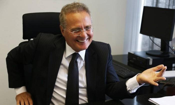 O senador Renan Calheiros (PMDB-AL) Foto: Givaldo Barbosa / Agência O Globo