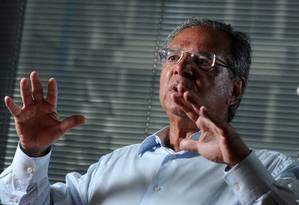 O economista Paulo Guedes, assessor de Jair Bolsonaro Foto: Leo Pinheiro / Agência O Globo